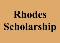Reference Letter to Support Rhodes Scholarship
