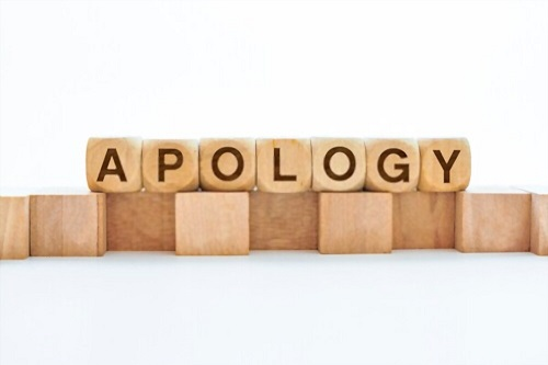 sample apology letter